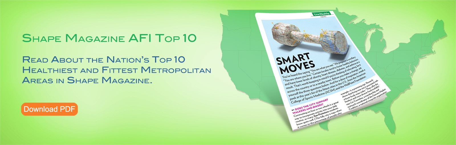 SHAPE Magazine AFI Top 10