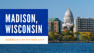 madison wisconsin america's 5th fittest city