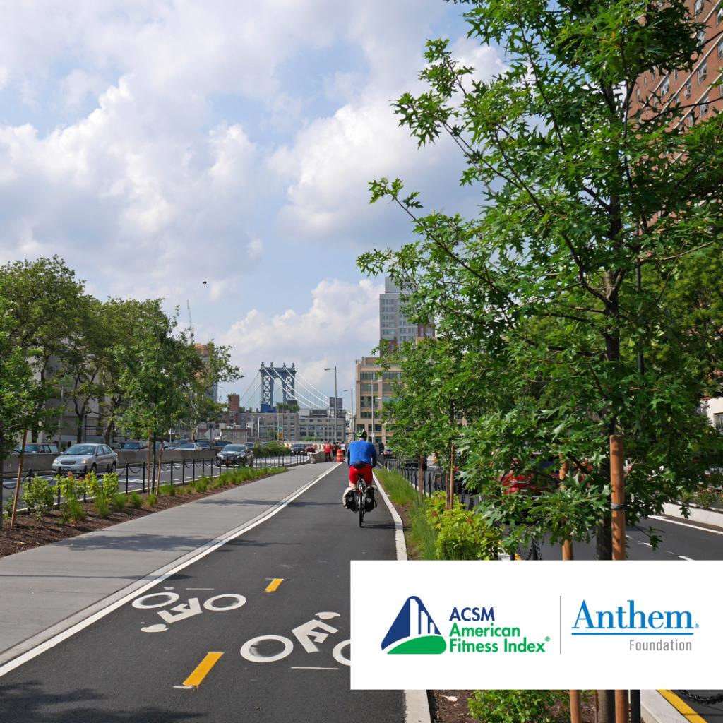 city with safe bike lanes